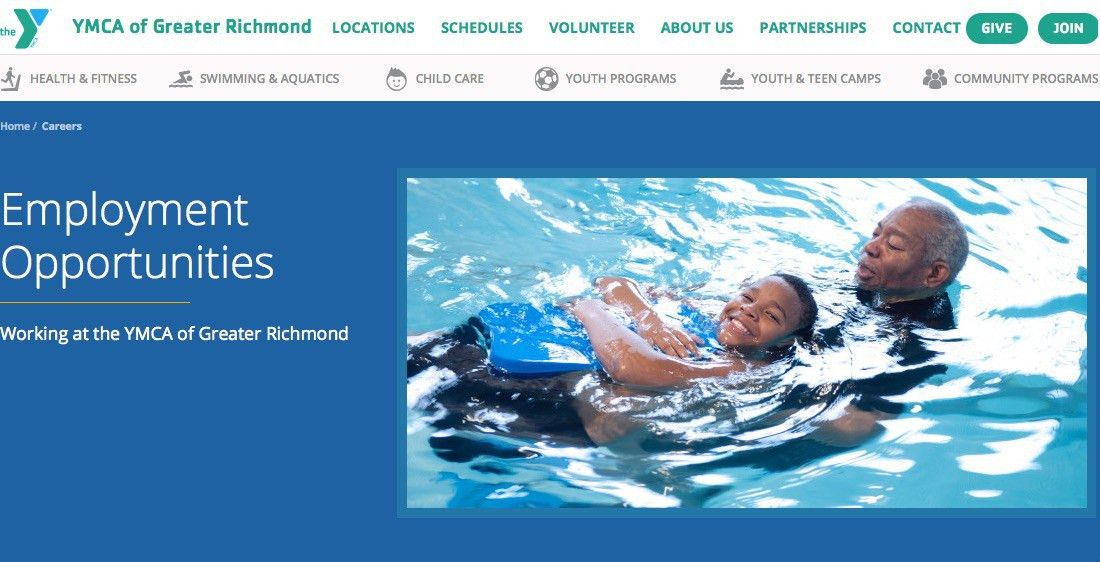Job Listings - YMCA of Greater Richmond Jobs