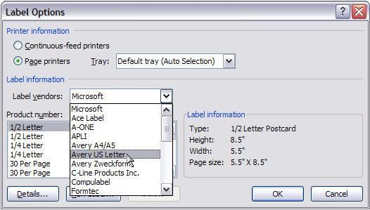 Mail Merge for Dummies: Creating Address Labels in Word 2007 ...