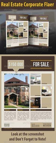 For Sale By Owner FLyer | House Exterior | Pinterest | Free design ...