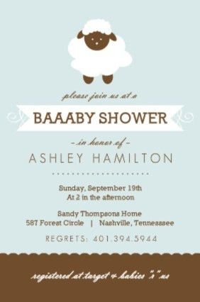 Baby Shower Invitation Wording Ideas From PurpleTrail