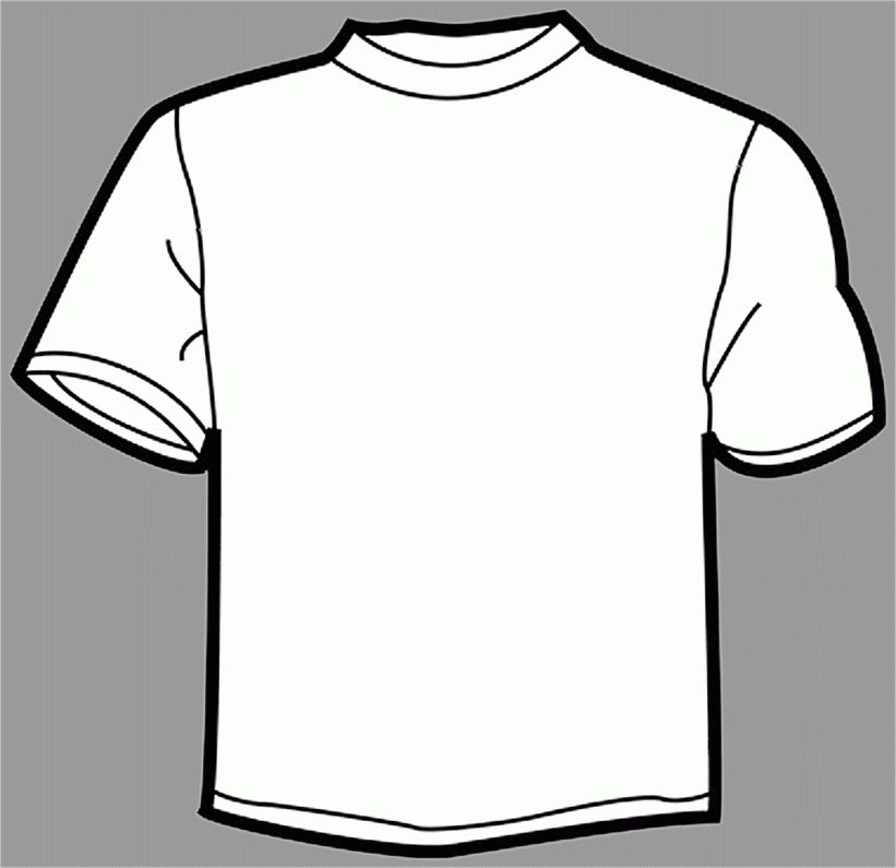 T Shirt Outline | Free Download Clip Art | Free Clip Art | on ...