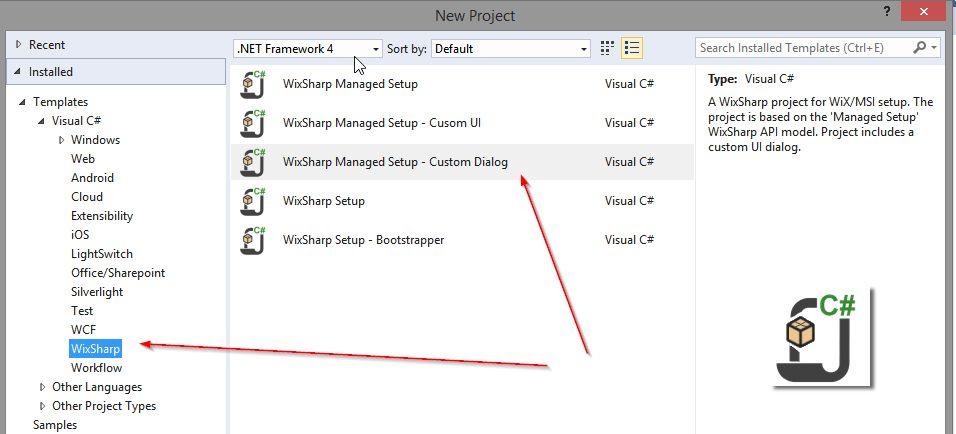 WixSharp Project Templates - Visual Studio Marketplace