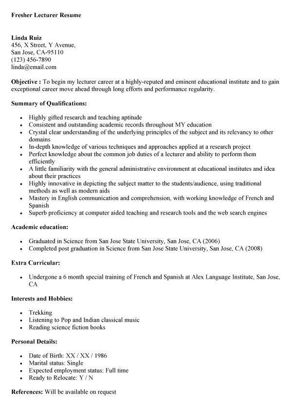 sap abap sample resume resume cv cover letter. career objective ...