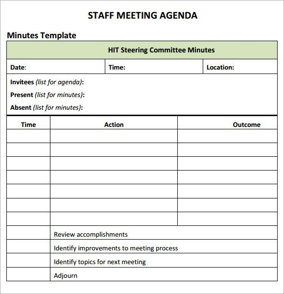 New Printable Agenda templates | Templates and Samples