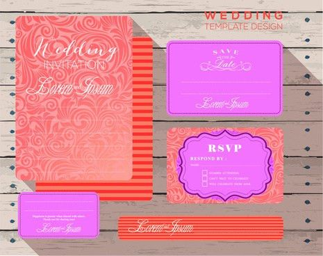 Blank invitation card template free vector download (22,900 Free ...