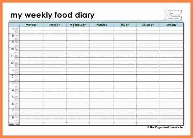 20+ [ Free Printable Weekly Menu Template ] | 4 Weekly Food ...