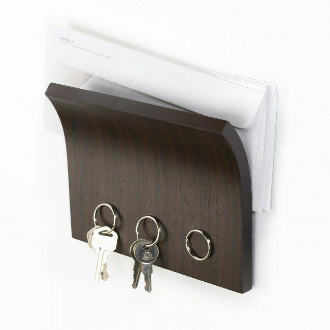 Umbra Magnetter Key Panel & Letter Holder - Espresso | Kitchen ...