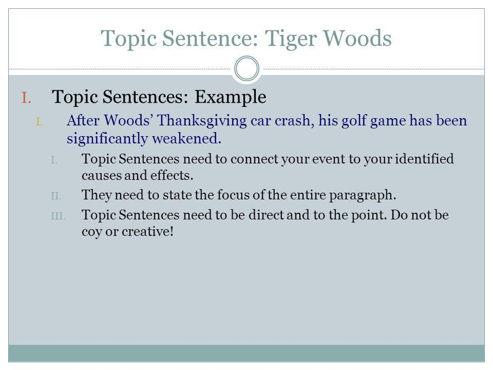 TIE-BACK TO THESIS STATEMENTS TRANSITION SENTENCES - ppt video ...