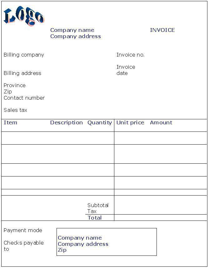 easy invoice creator
