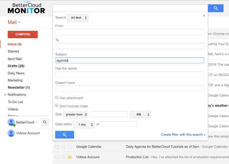 3 Ways to Automate Email Tasks Using Gmail - BetterCloud Monitor