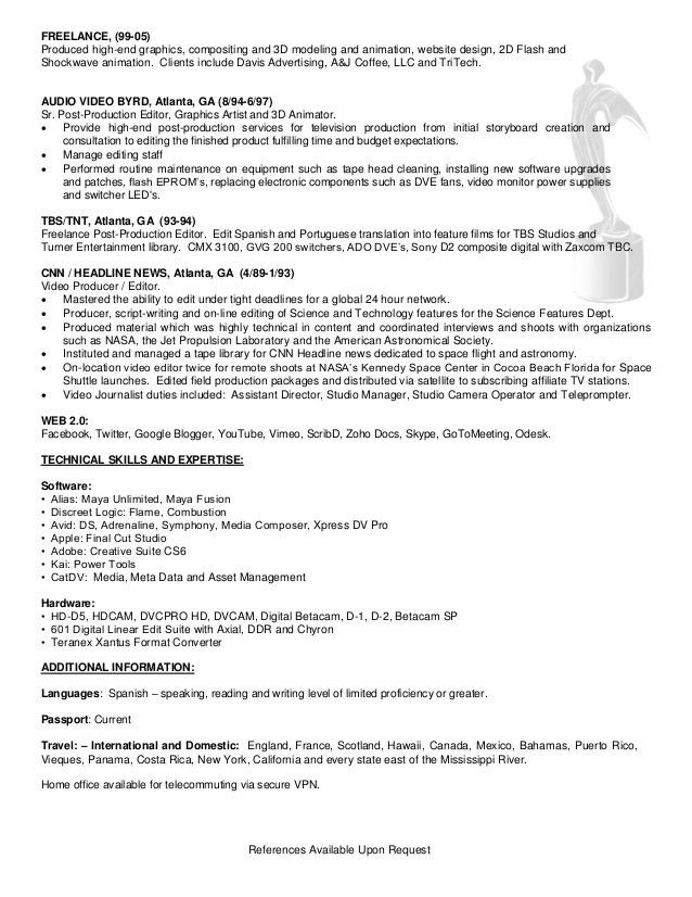 Kevin Powell Resume