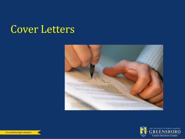 Lovely Resume And Cover Letter Workshop: Career Services UNCG
