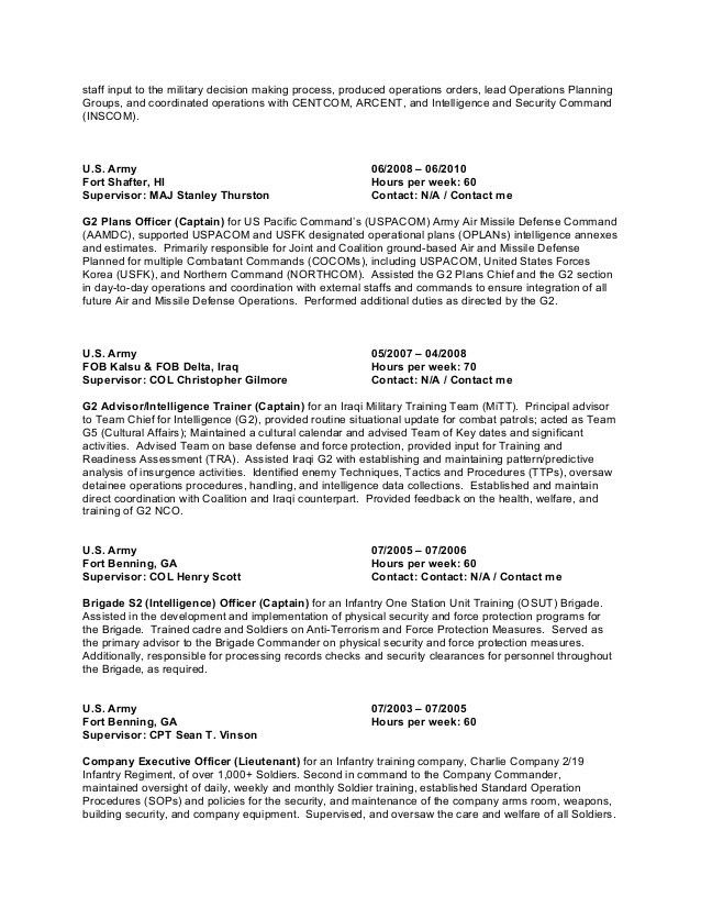 Resume for Jeffrey E. Johnson