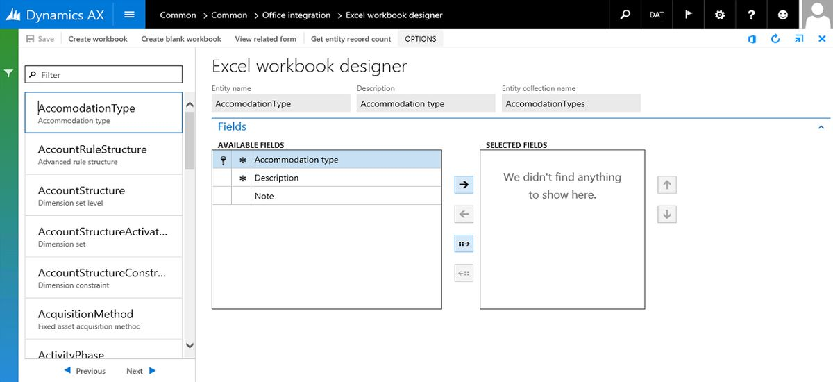 Create Open in Excel experiences | Microsoft Docs