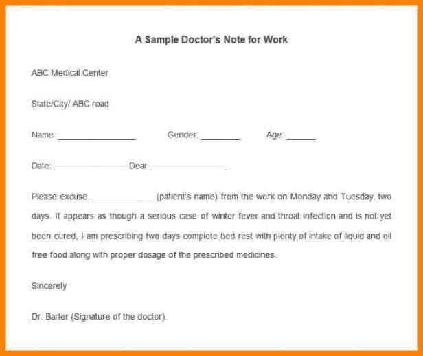 7+ sample doctor note | latest cv format