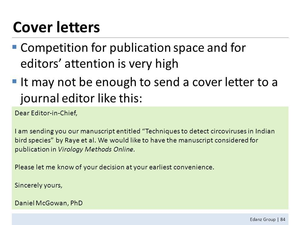 How to Write for and Get Published in Scientific Journals - ppt ...