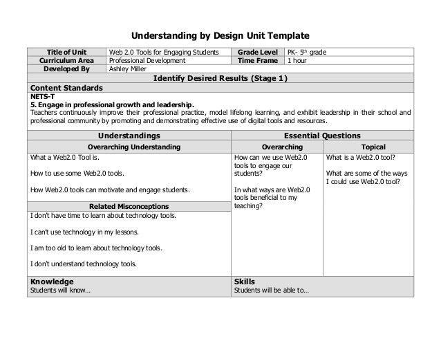 Professional development lesson plan