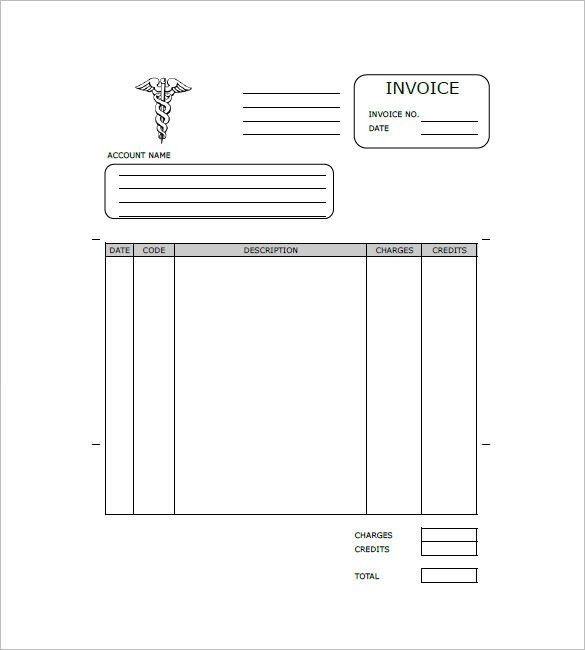 Medical Invoice Template – 10+ Free Word, Excel, PDF Format ...