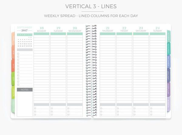 Plum Paper - Large Vertical 2: Hourly Layout | School Counseling ...