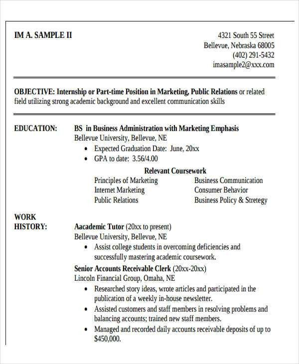 25+ Modern Business Resume Templates | Free & Premium Templates