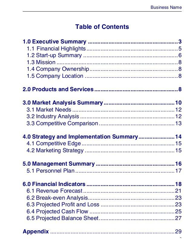 Business Plan Template. 5-Year-Business-Plan-Template ...
