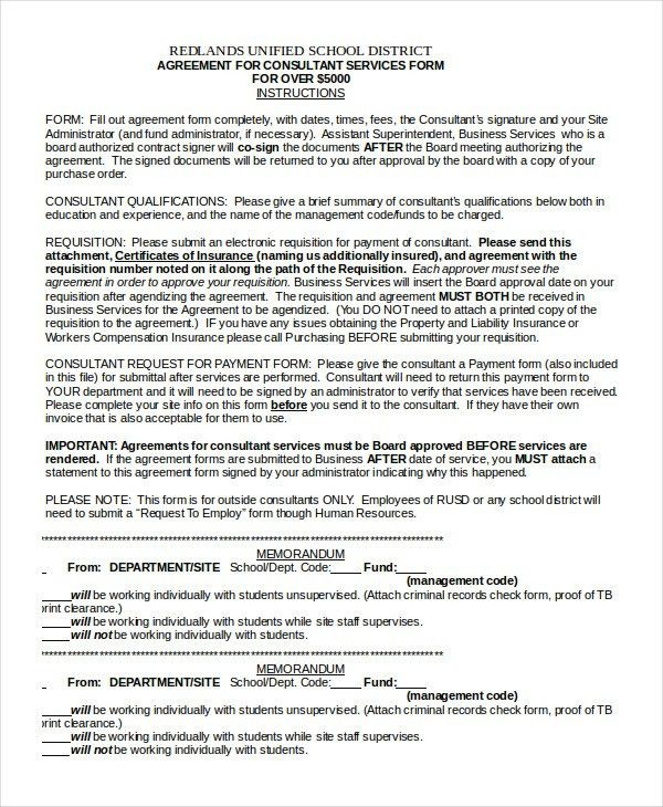 Consulting Agreement - 11+ Free Word, PDF Documents Download ...