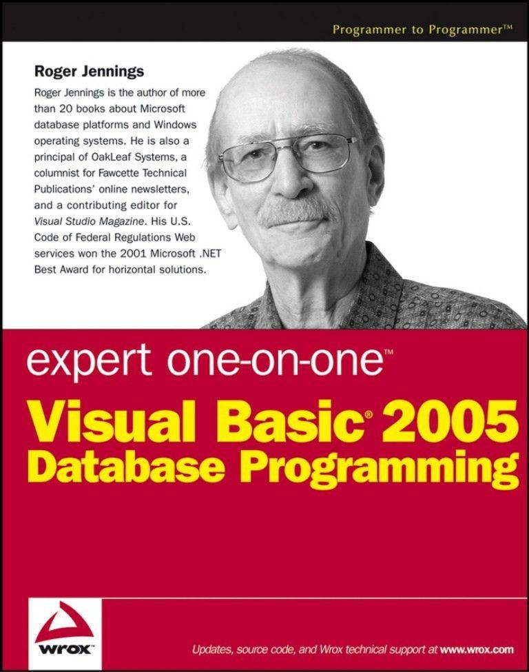 Visual basic 2005 database programming 2006