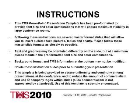 tms 2012 powerpoint template doc600450 sample rate sheet sample ...