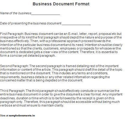 Business Documents Templates | Documents and PDFs