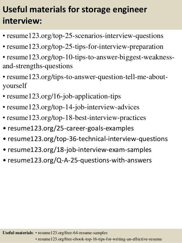 Emc Storage Engineer Sample Resume | haadyaooverbayresort.com