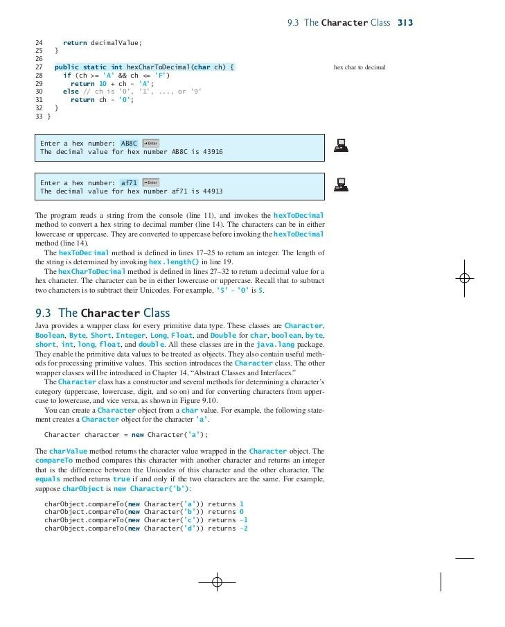 Strings and Text I/O in Java