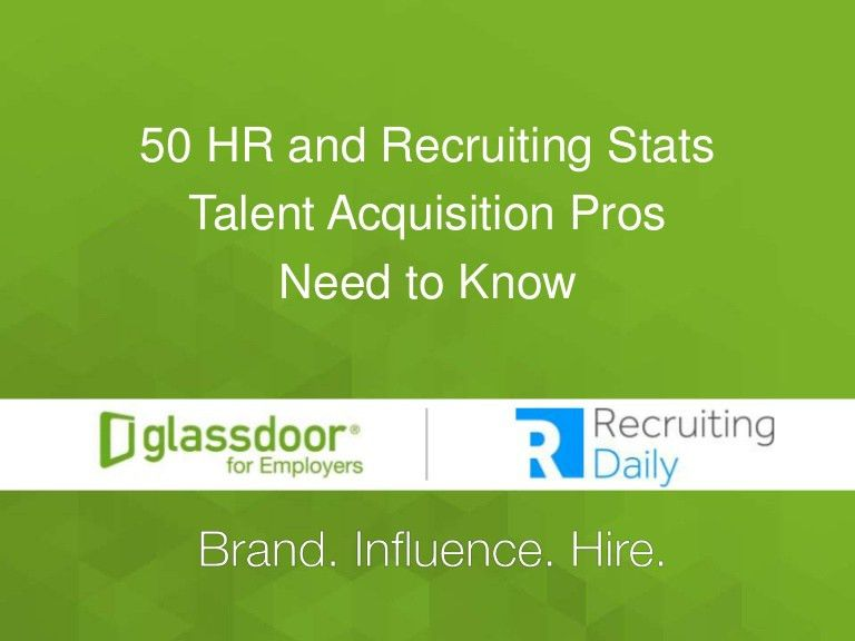 Recruiting Blogs: 50 Recruiting Stats Every Talent Acquisition Pro Ne…