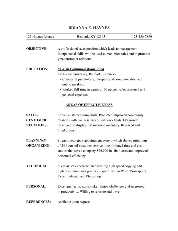 functional resume style template functional resume template word ...