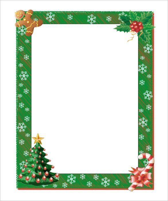 Christmas Note Paper Template 2017 | Best Template Examples