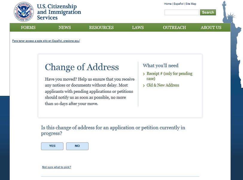 Stay in touch with USCIS: Change Your Address | USCIS