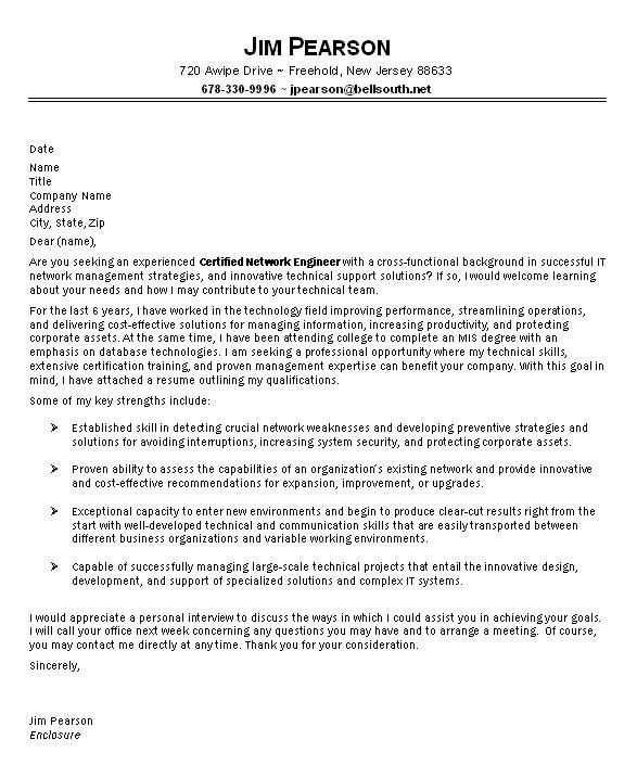 Good Cover Letters For It Professionals 74 With Additional ...
