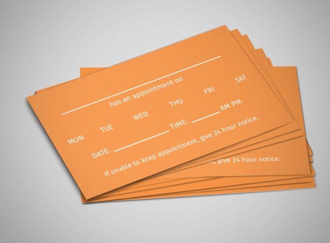 Kanter Medical Reminder Card Template | MyCreativeShop