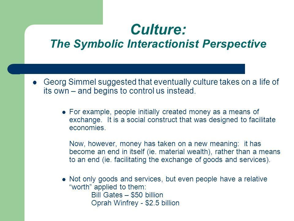 Sociological Analysis of Culture Sociologists regard culture as a ...