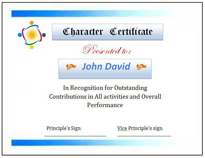 High School Certificate Template | Graphics and Templates