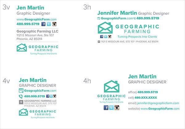 50+ Best Professional HTML & Outlook Email Signature Designs ...