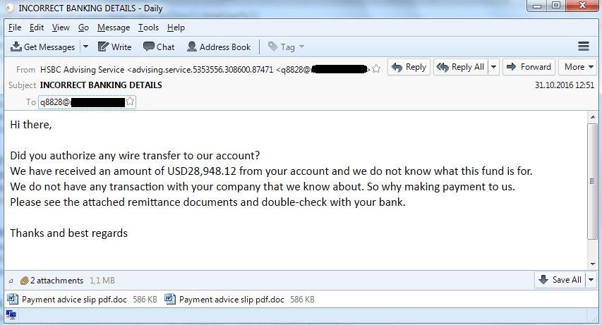 Nigerian phishing: industrial companies under attack | Kaspersky ...