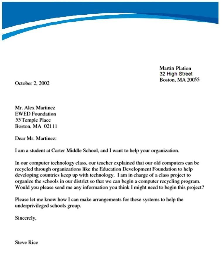 How To Write Official Letter | articleezinedirectory