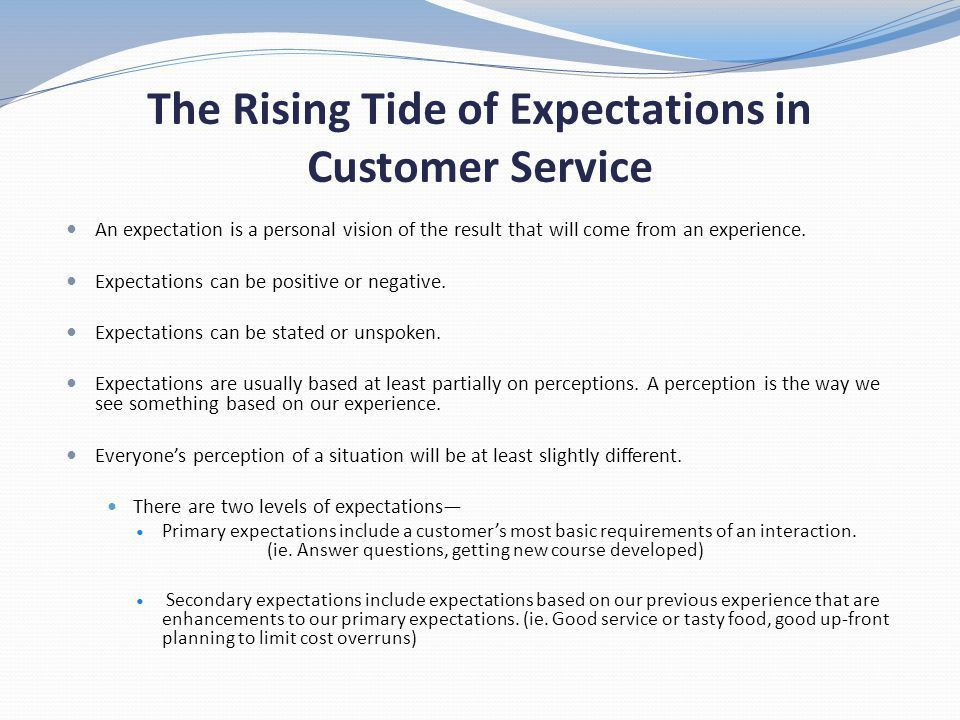 SURFING YOUR WAY TO BETTER CUSTOMER SERVICE - ppt video online ...