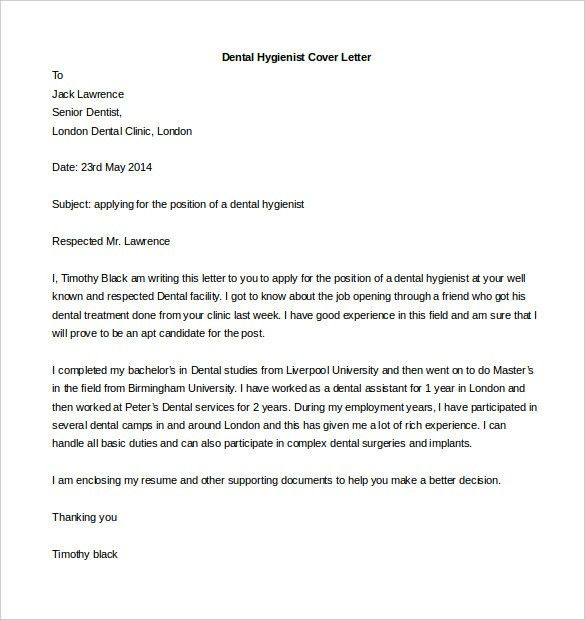 Download Cover Letter For Resume In Word Format #3583