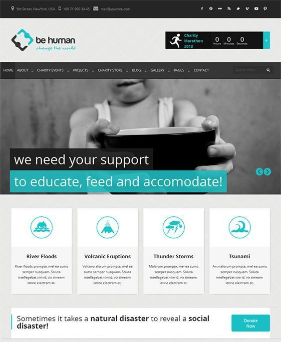 9 best 9 of the Best Crowd Funding HTML/CSS Templates & WordPress ...