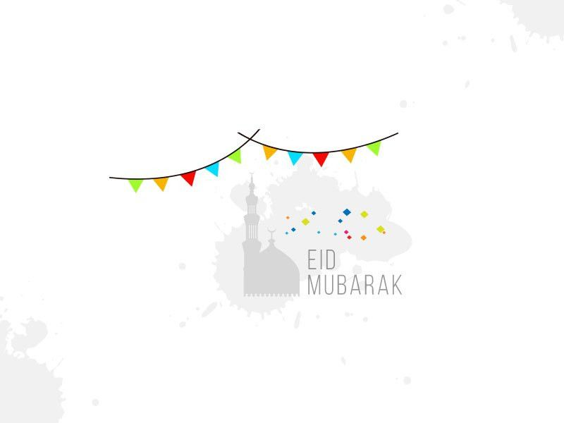 Free Eid Card Template by inox studio - Dribbble
