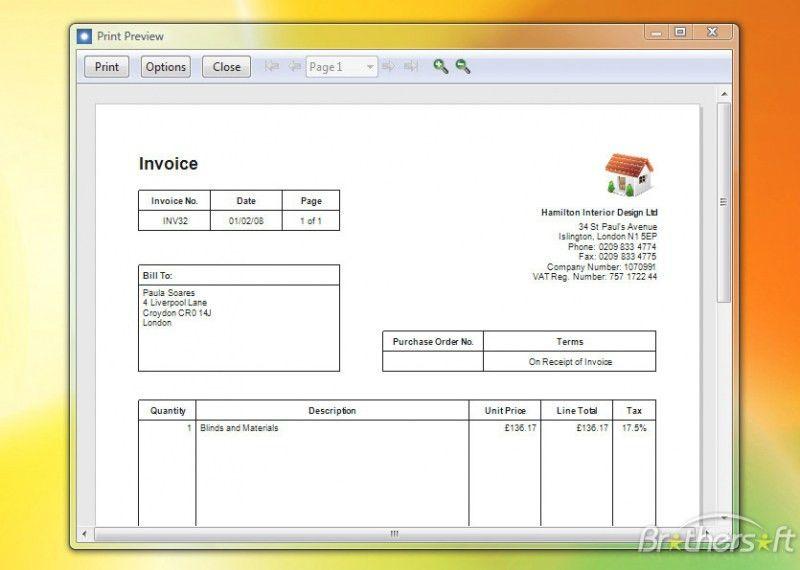 Download Self Employed Invoice Template Uk Free   rabitah.net