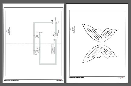 LED Butterfly Pop Up Card - learn.sparkfun.com