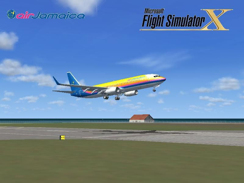 Air Jamaica Texture Pack for FSX