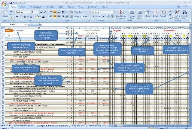 How To Estimate Construction Cost Using Excel Sheet - Download PDF ...